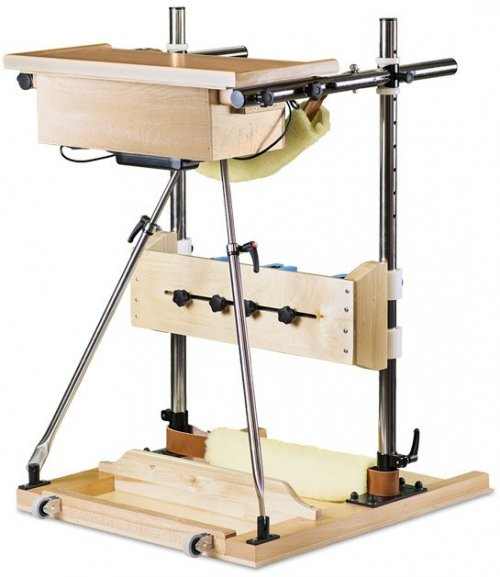 The Adjustable Frame with Hoist and Knee-Blocks